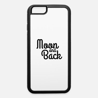 Back To The Future Moon and back - iPhone 6/6s Rubber Case
