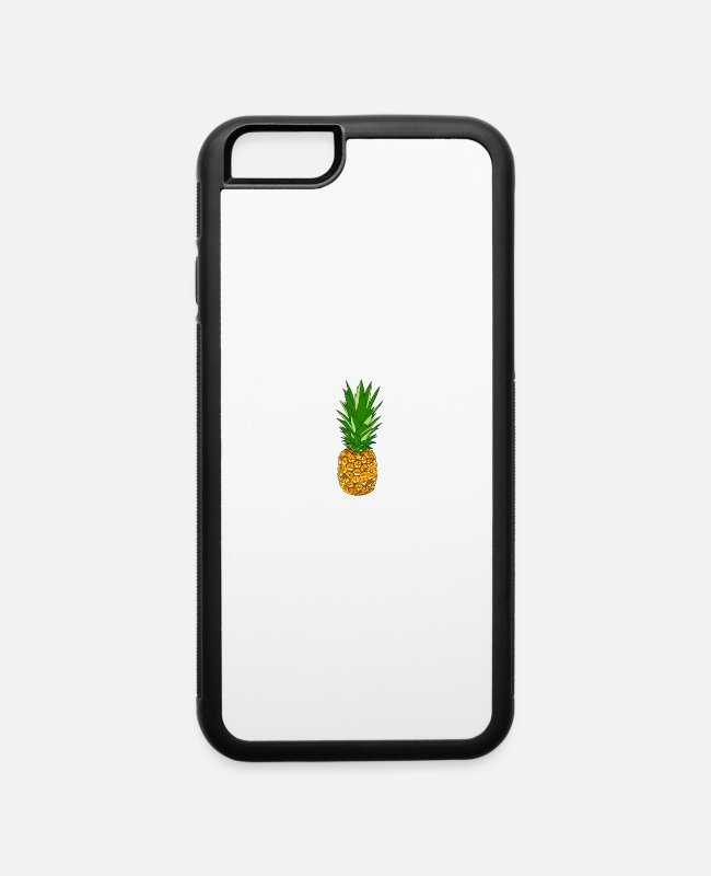 Timeless iPhone Cases - Pineapple is the Answer gift shirt colour - iPhone 6 Case white/black