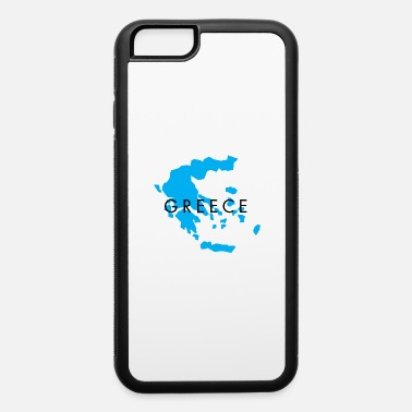 Long Greece Map Design for Men, Women and Kids - iPhone 6 Case