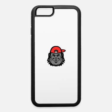 Monkey Gorilla Wearing Cap Mascot - iPhone 6 Case