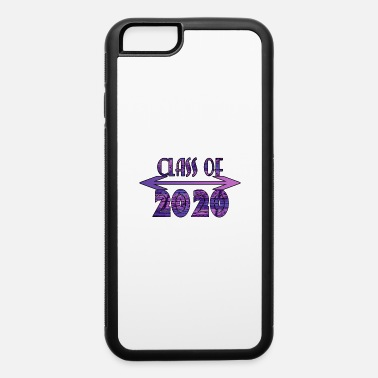 Tribal Class of 2020 Purple Tribal Print Design - iPhone 6 Case