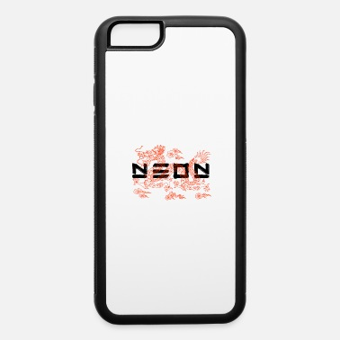 Chinese New Year NEON Chinese Dragon - iPhone 6 Case