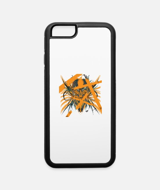 Devil iPhone Cases - Devil Hell - iPhone 6 Case white/black
