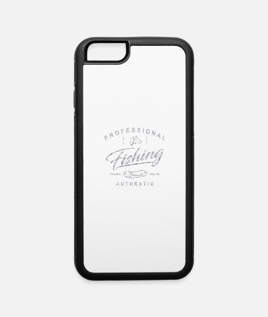 Streetwear iPhone Cases - Professional Fishing Streetwear - iPhone 6 Case white/black