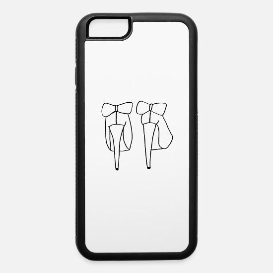 Love iPhone Cases - High Heels - iPhone 6 Case white/black
