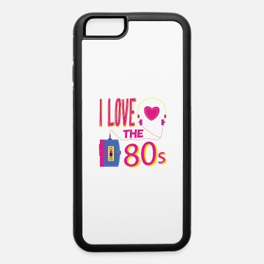 Partymode I love the 80s party disco retro revival past - iPhone 6 Case