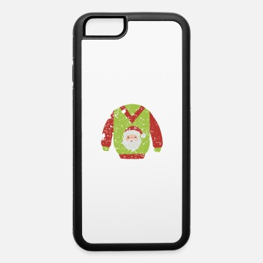 Stocks Vintage Christmas Element Sweater - iPhone 6 Case