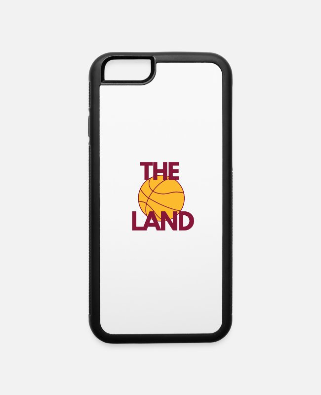 The Land iPhone Cases - Cleveland Cavs Basketball T-Shirts Stickers - iPhone 6 Case white/black