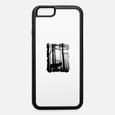 Threatened Deer in the Forest - iPhone 6 Case