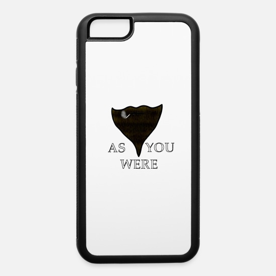 Cigarette iPhone Cases - As You Were - iPhone 6 Case white/black