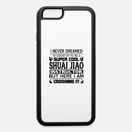 Gift Idea iPhone Cases - Shuai Jiao - iPhone 6 Case white/black
