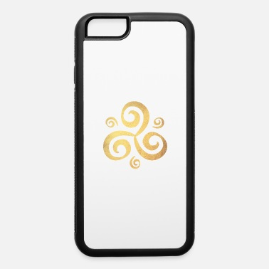 Yoga Gold Triskele Meditation Shirt Energy om - iPhone 6 Case