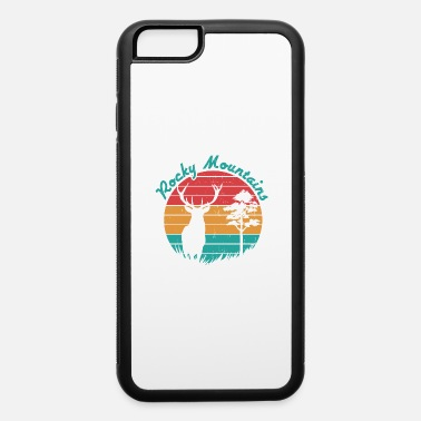 Rocky Mountains Rocky Mountains Wild Vintage - iPhone 6 Case