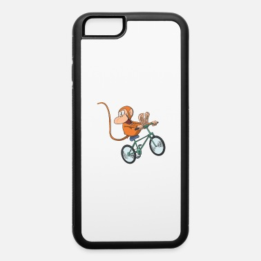 Feet Up Monkey Race Bike bicycle feet up - iPhone 6 Case
