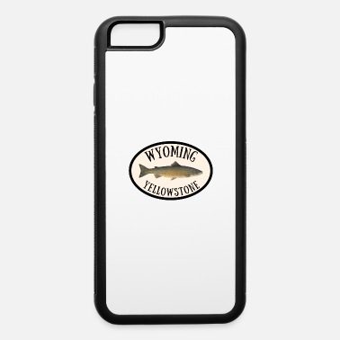 Geraud Wyoming Yellowstone Trout Fly Fishing Outdoors - iPhone 6 Case