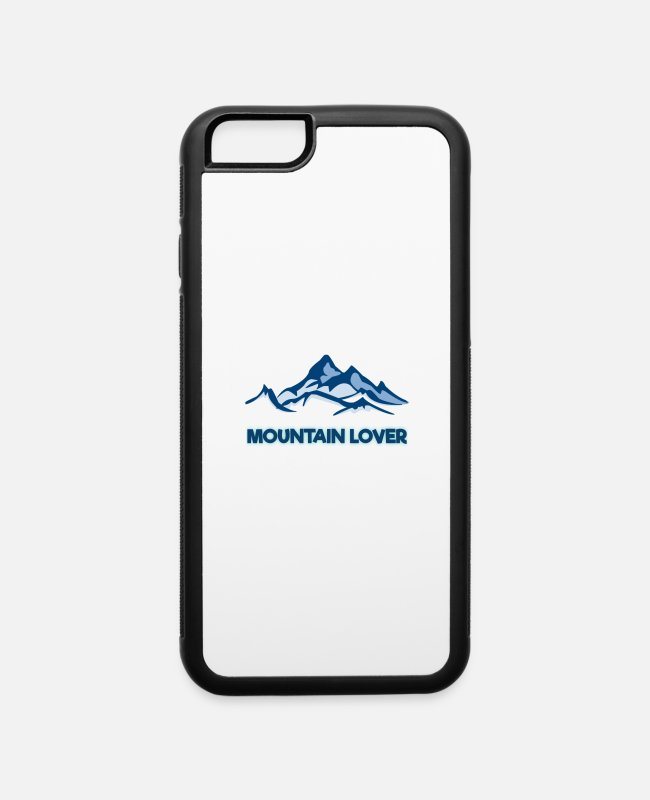Husband iPhone Cases - Mountain lover - iPhone 6 Case white/black