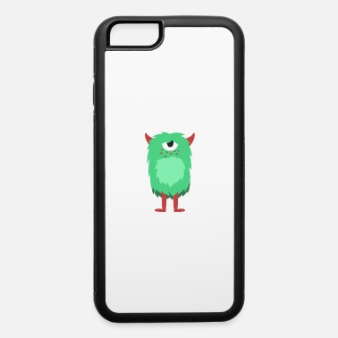 Monster Graphic Fluffy Monster - iPhone 6 Case