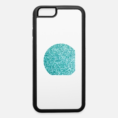 Turquoise Turquoise glitter - iPhone 6 Case