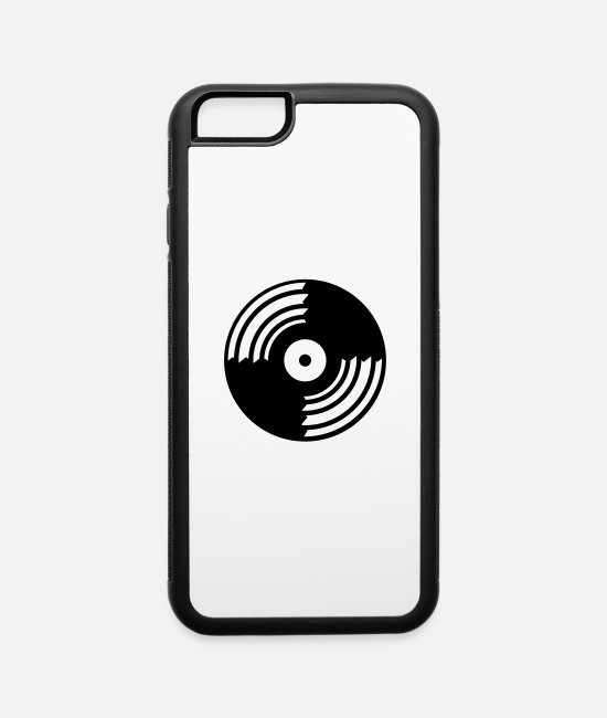 Headphones iPhone Cases - dj_schallplatte___f1 - iPhone 6 Case white/black