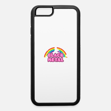 Rainbow Mosh BLACK METAL! (Funny Unicorn / Rainbow Mosh Parody - iPhone 6 Case
