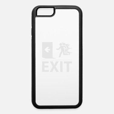 Emergency Exit emergency fire exit sign - iPhone 6 Case