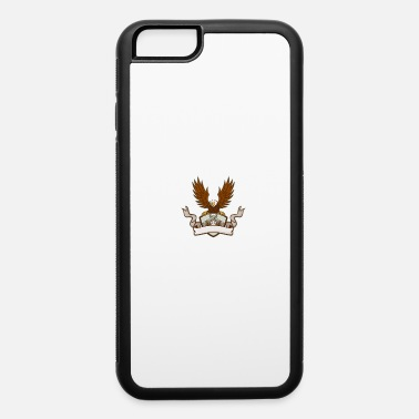 Pistol Bald Eagle Crossed 45 Caliber Pistols Shield Retro - iPhone 6 Case
