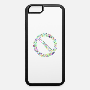 Flecked Prohibited No Sign Fractal Prismatic - iPhone 6 Case