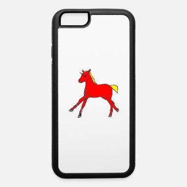 Filly Firehorse Foal - iPhone 6 Case