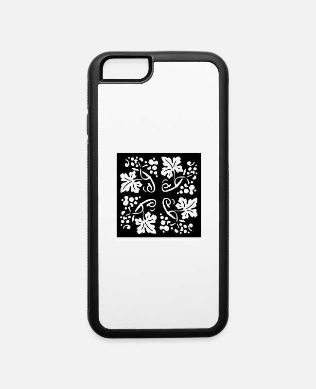 Take iPhone Cases - Square ornament 41 - iPhone 6 Case white/black