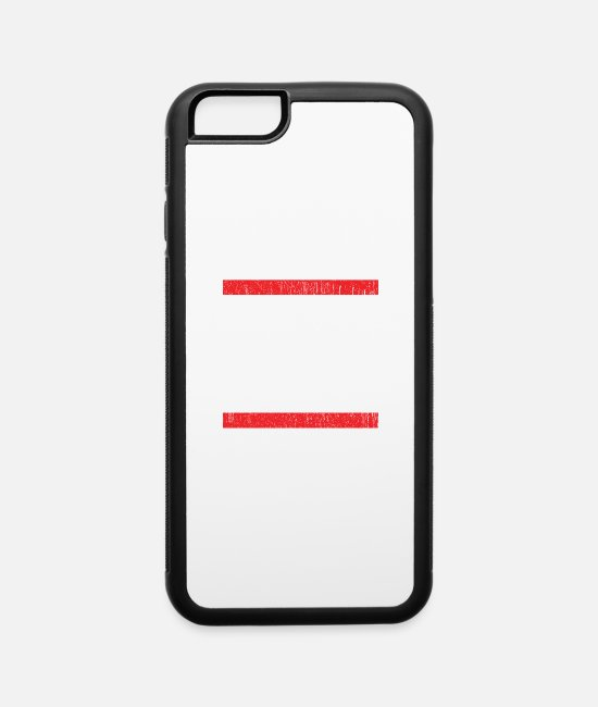 Dark Humor iPhone Cases - Boats & Hoes Dark - iPhone 6 Case white/black