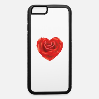 Cuore Rose flower heart - iPhone 6 Case