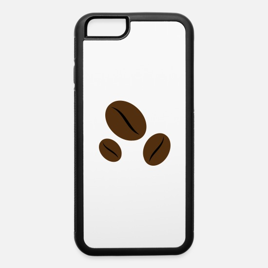 Coffee Bean iPhone Cases - coffee bean - iPhone 6 Case white/black