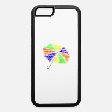 Baby Umbrella Shirt Word Cloud Presents - iPhone 6/6s Rubber Case