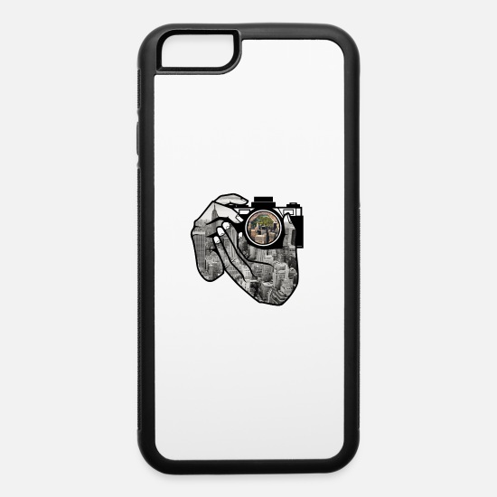 Orbit iPhone Cases - Camera - iPhone 6 Case white/black