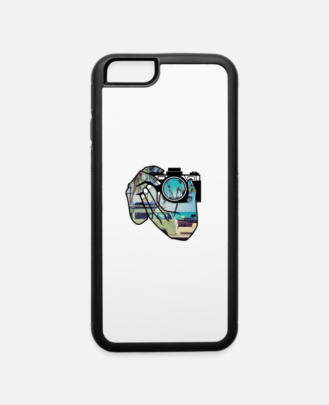 Space iPhone Cases - Camera - iPhone 6 Case white/black