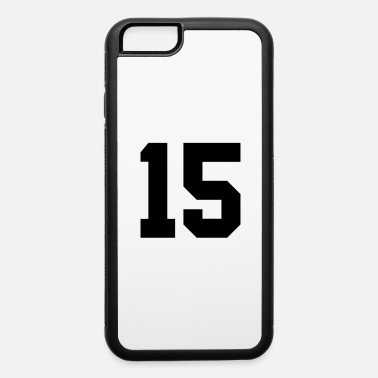 Number 15 15 - iPhone 6 Case