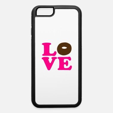Vector Most Loved Fast Food Design Cakes Breads ♥ټLove Choco Doughnut-Heavenly Donutټ♥ - iPhone 6 Case