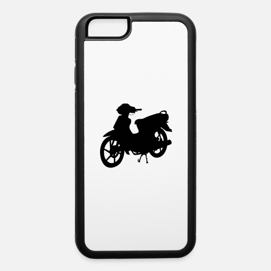 Motorcycle iPhone Cases - motorbike - iPhone 6 Case white/black
