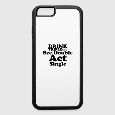 Drink triple - iPhone 6/6s Rubber Case