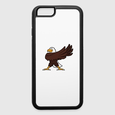 Dabbing Dancing Eagle - iPhone 6/6s Rubber Case