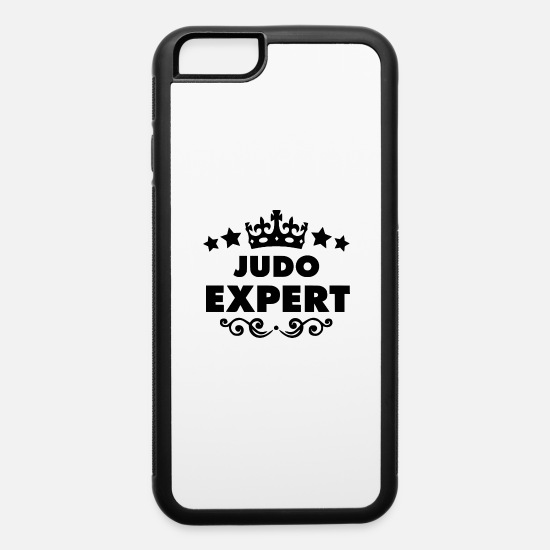Martial Arts iPhone Cases - judo expert - iPhone 6 Case white/black
