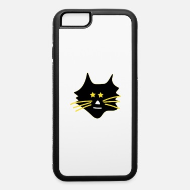 Asterisk Cute cat with asterisks - iPhone 6 Case