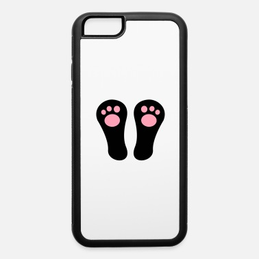Feet Up bunny RABBIT feet sitting up - iPhone 6 Case