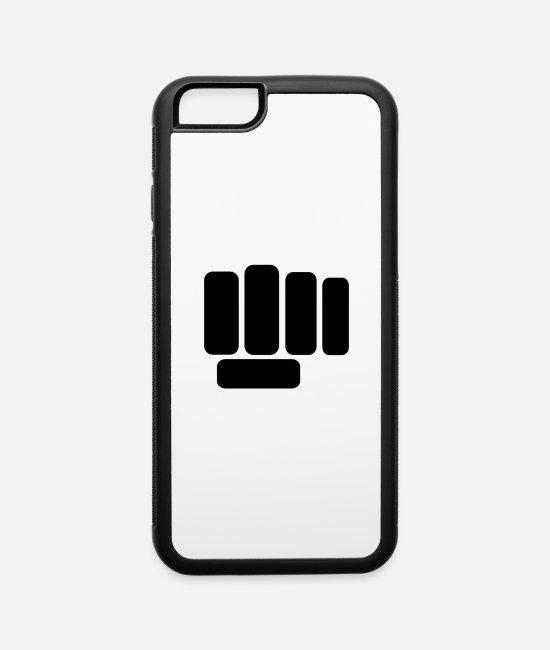 Punch iPhone Cases - Fist - iPhone 6 Case white/black
