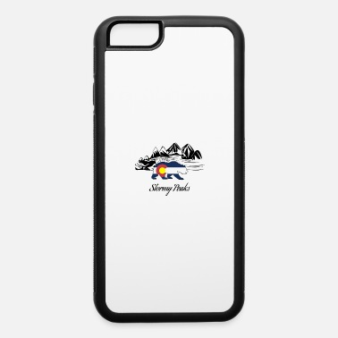 Stormy stormy peaks colorado - iPhone 6 Case
