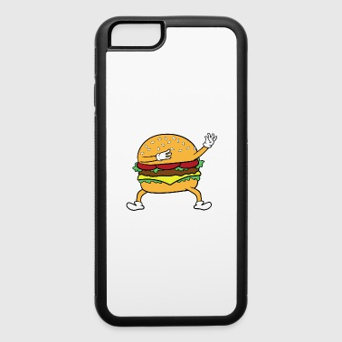Dabbing Dancing Burger - iPhone 6/6s Rubber Case