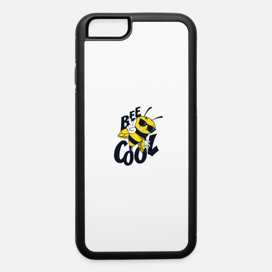 Cool Story iPhone Cases - BEE - iPhone 6 Case white/black