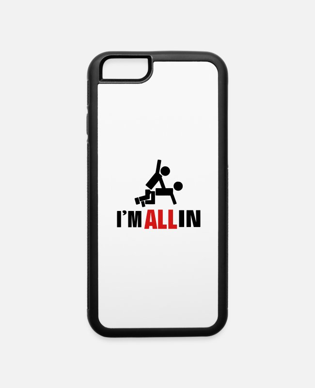 Boss iPhone Cases - I'M ALL IN - iPhone 6 Case white/black