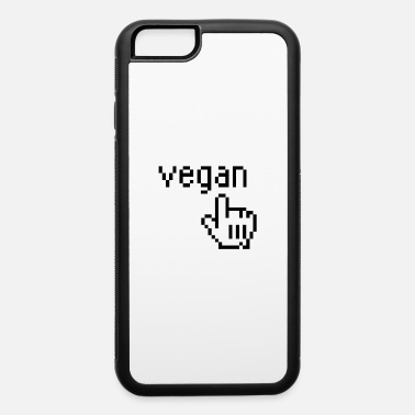 VEGAN 1bit PIXEL Geek - iPhone 6 Case