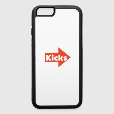 Kicks Logo - iPhone 6/6s Rubber Case
